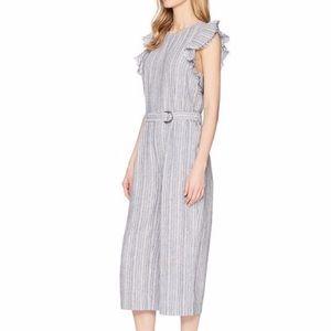Vince Camuto Pants - Striped jumpsuit size medium
